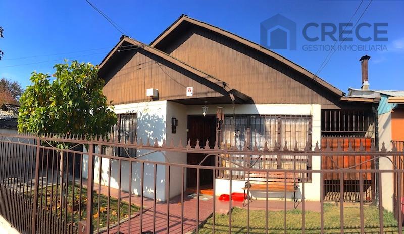 Casa 1 piso, amplia, Abate Molina, Nueva Imperial, Linares, VII región