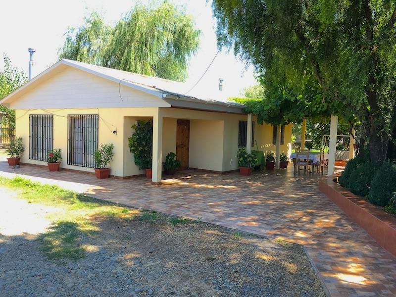 Parcela 7 has + Casa sólida, sector La Selva, Parral, VII región, CHILE