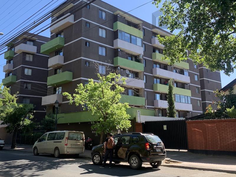 Departamento Plaza Las Heras, Talca, séptima Región del Maule