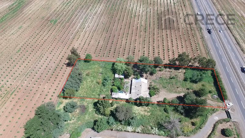 Casa en Parcela de Agrado Parral, a orilla de carretera 5 Sur, VII región del Maule