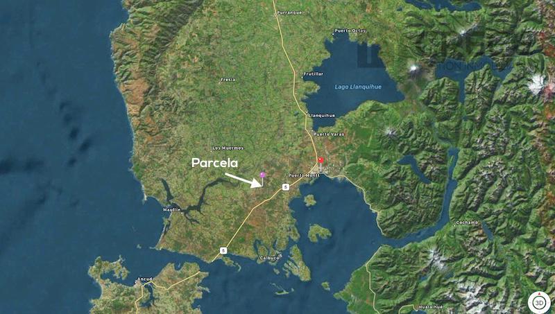 Parcela 1 Hectárea a solo 20km Puerto Montt, en ruta a Chiloe