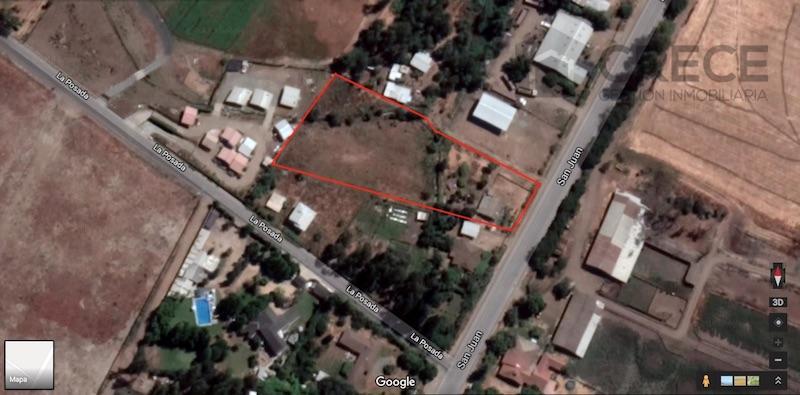 PARCELA 5000m2, A SOLO 3 KM DE LINARES