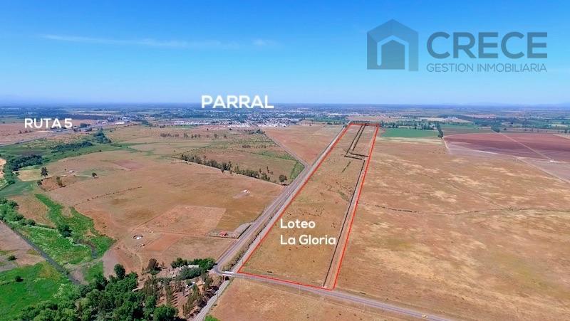 Parcelas 5000m2, Loteo La Gloria, Parral, VII región del Maule