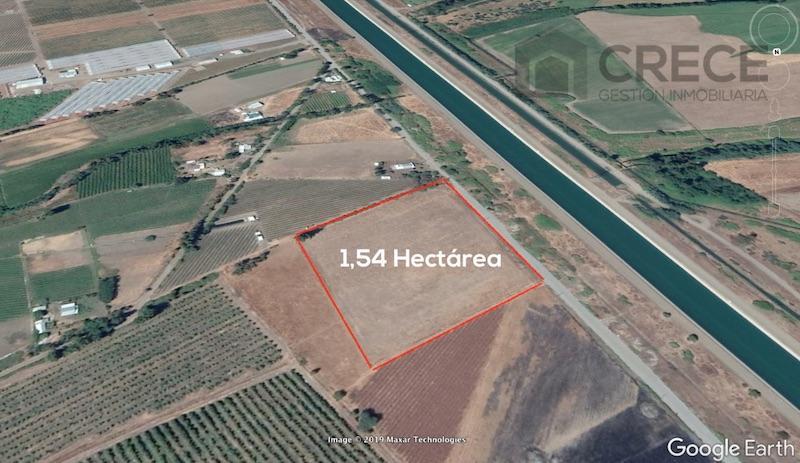 Parcela 1,54 hectárea, Sector San Ignacio, Yerbas Buenas, VII región del Maule, CHILE